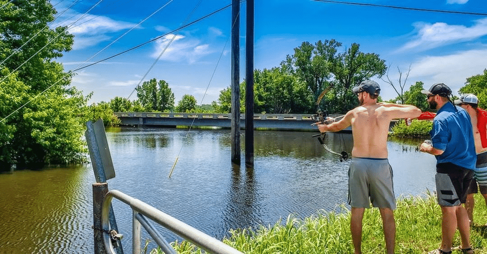 Bow fishing is a great outdoor activity. You can do this during daytime, but night time is said to be the better time