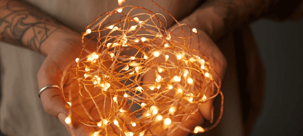how to make copper wire led lights