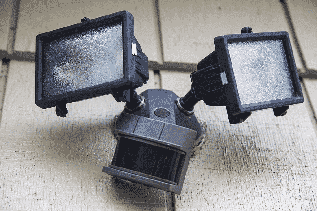 Most motion sensor security lights are wall-mounted