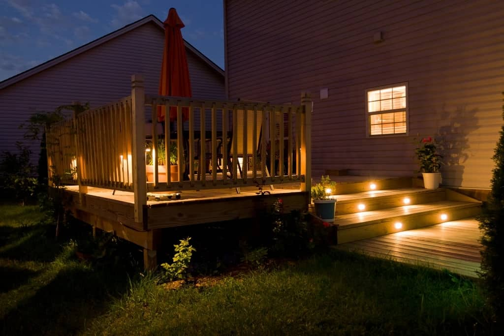 If used correctly, solar deck lights can be an additional source of ambient lighting in your patio and pool deck areas
