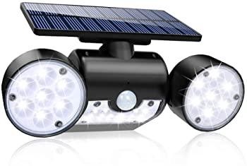 Twin Spot Solar Motion Light